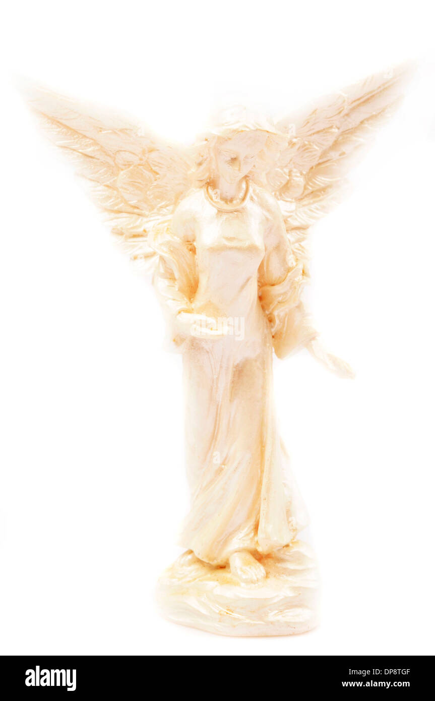 angel statuette - Stock Image