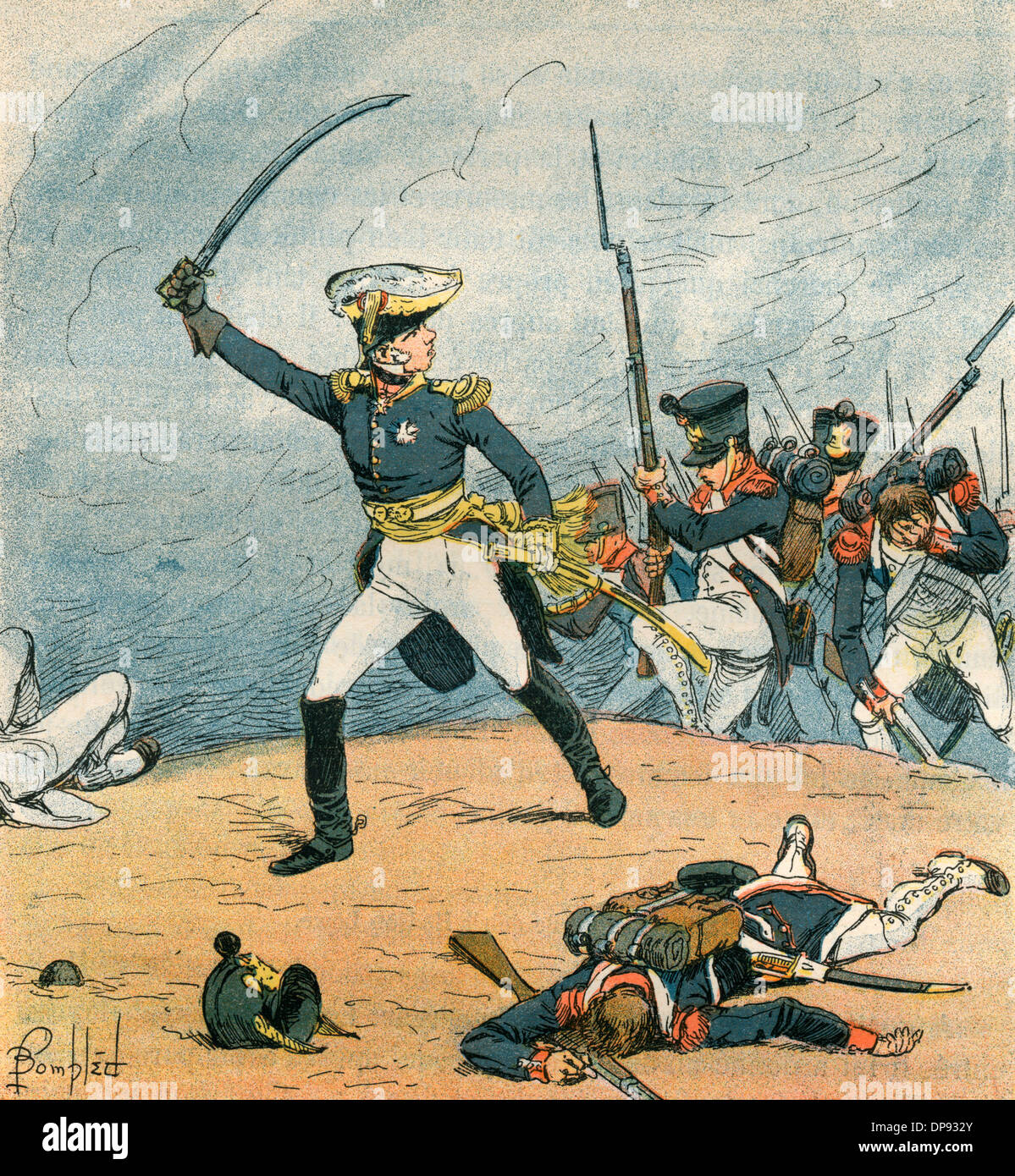 French infantry - Stock Image