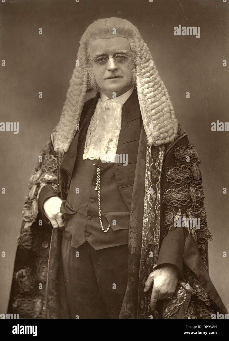 Sir Henry Cotton - Stock Image