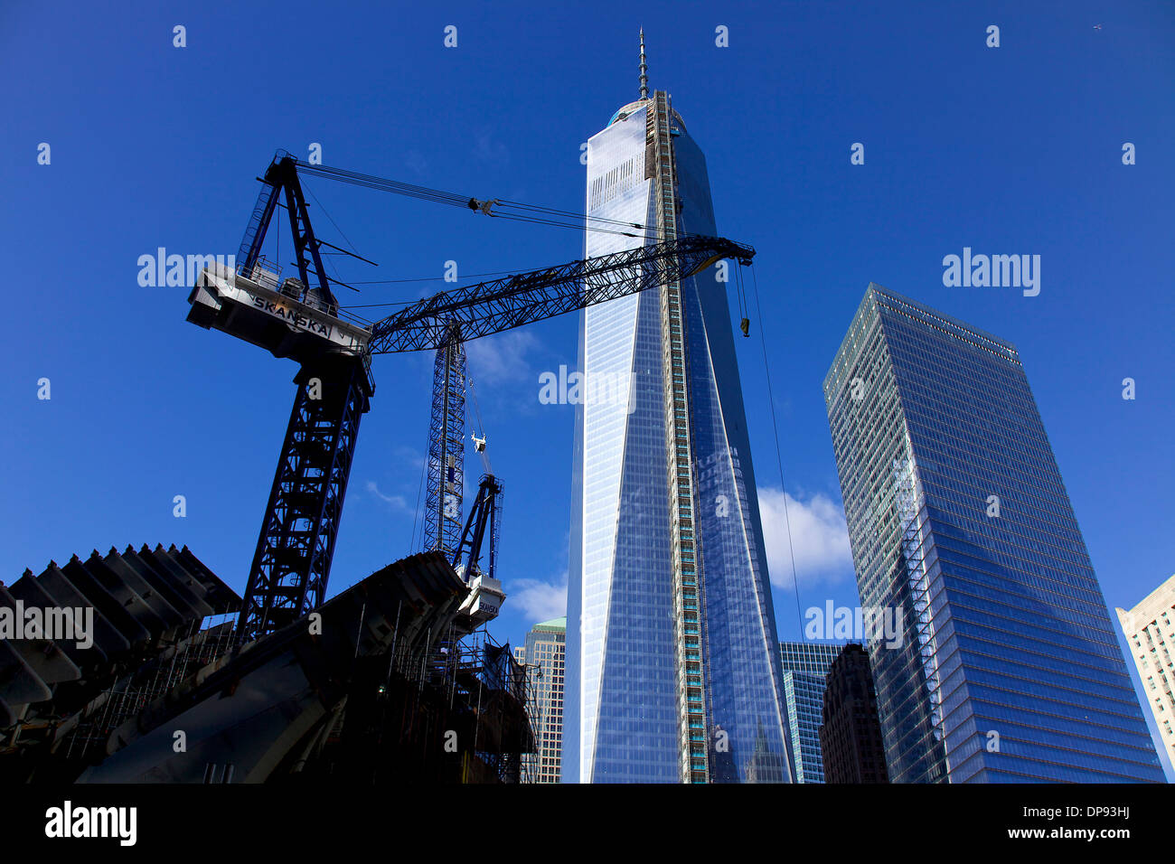 Freedom Tower Construction Site Stock Photos & Freedom ...