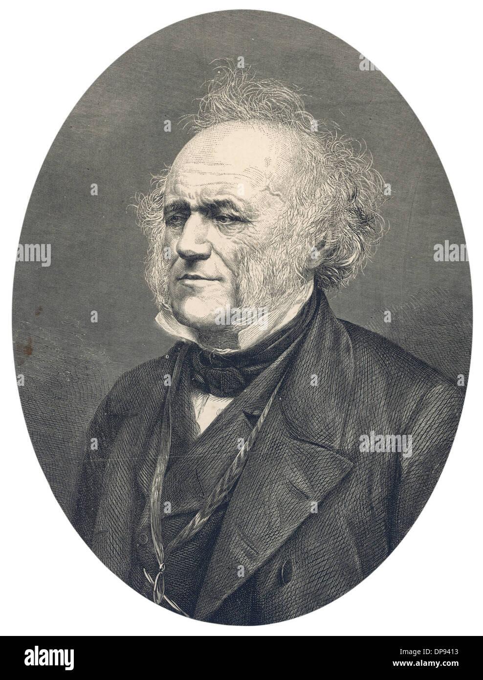 Sir Charles Lyell - Stock Image