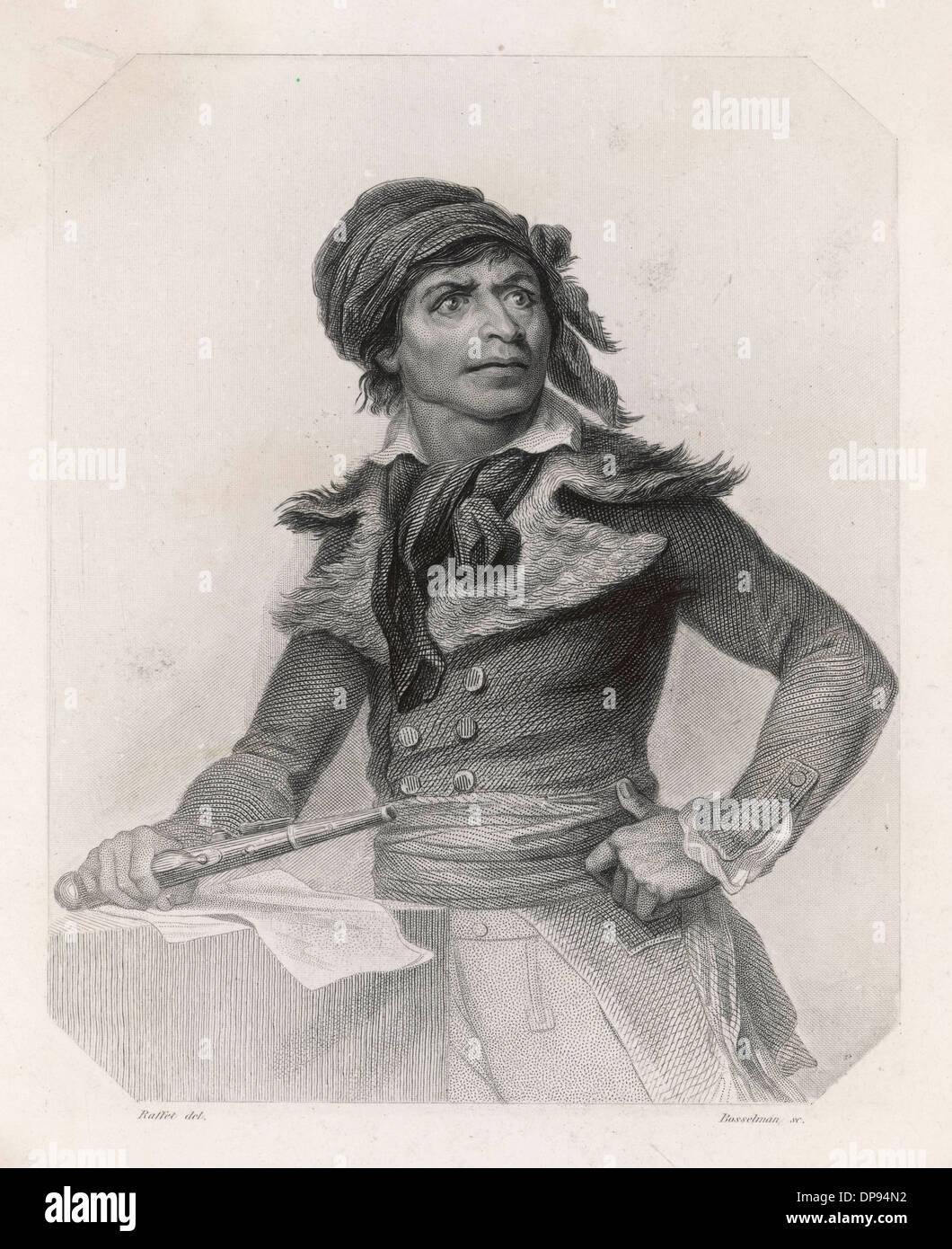 Jean-Paul Marat, French revolutionary - Stock Image