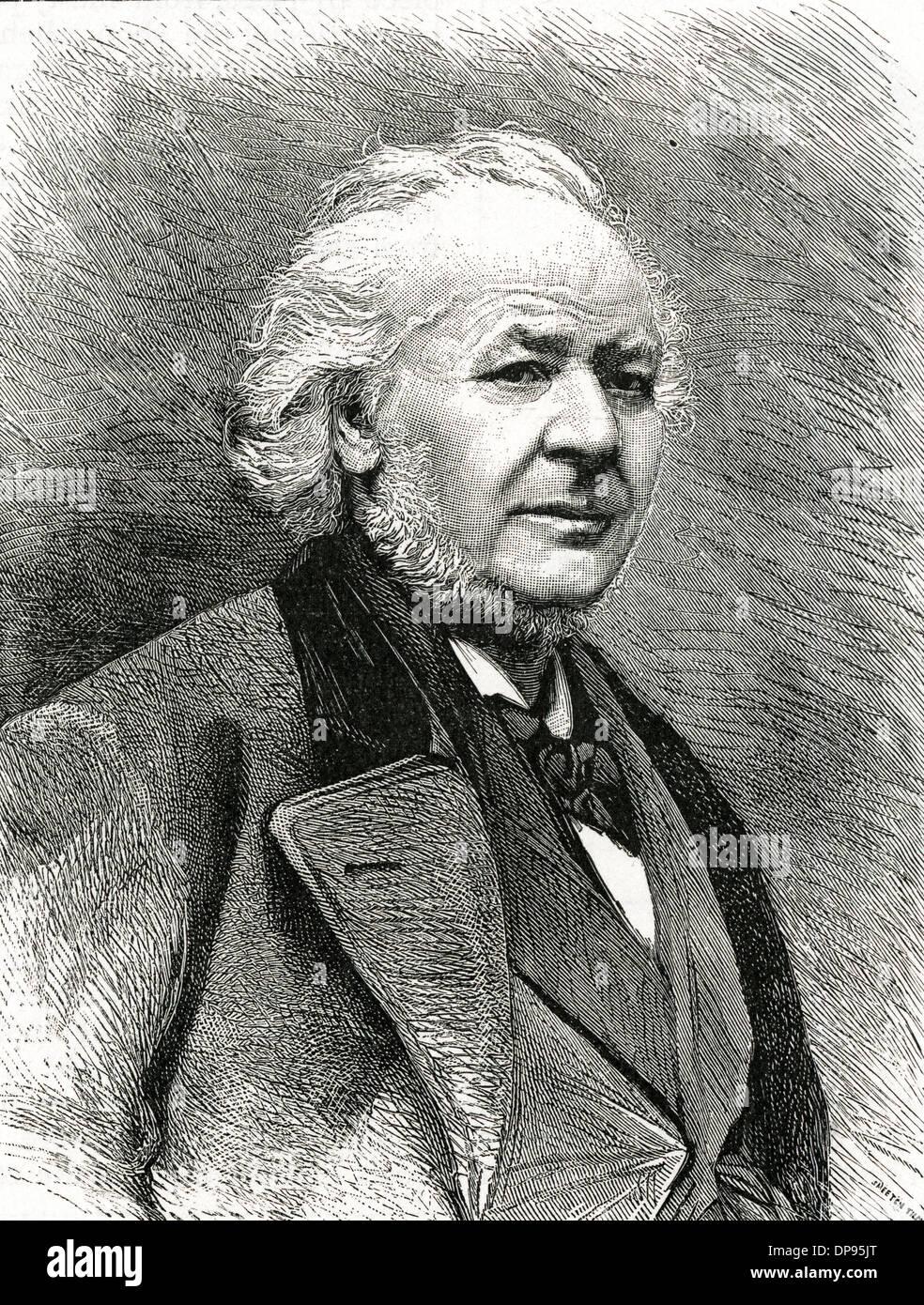 DAUMIER (1808 - 1879) - Stock Image