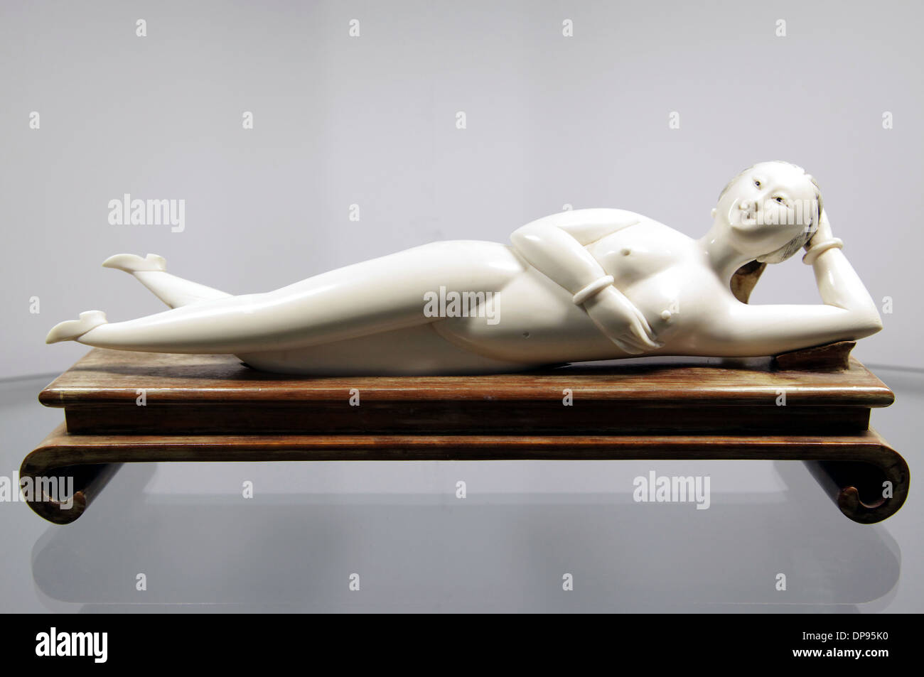 Doctor's Doll 1850-1900.used by physicians. - Stock Image