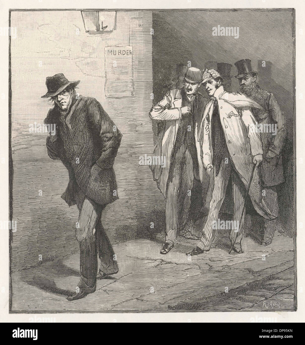 'JACK THE RIPPER' - Stock Image