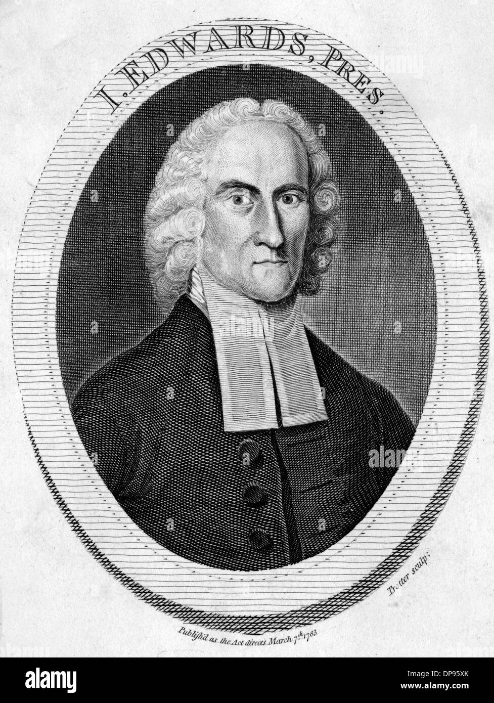 JONATHAN EDWARDS - Stock Image