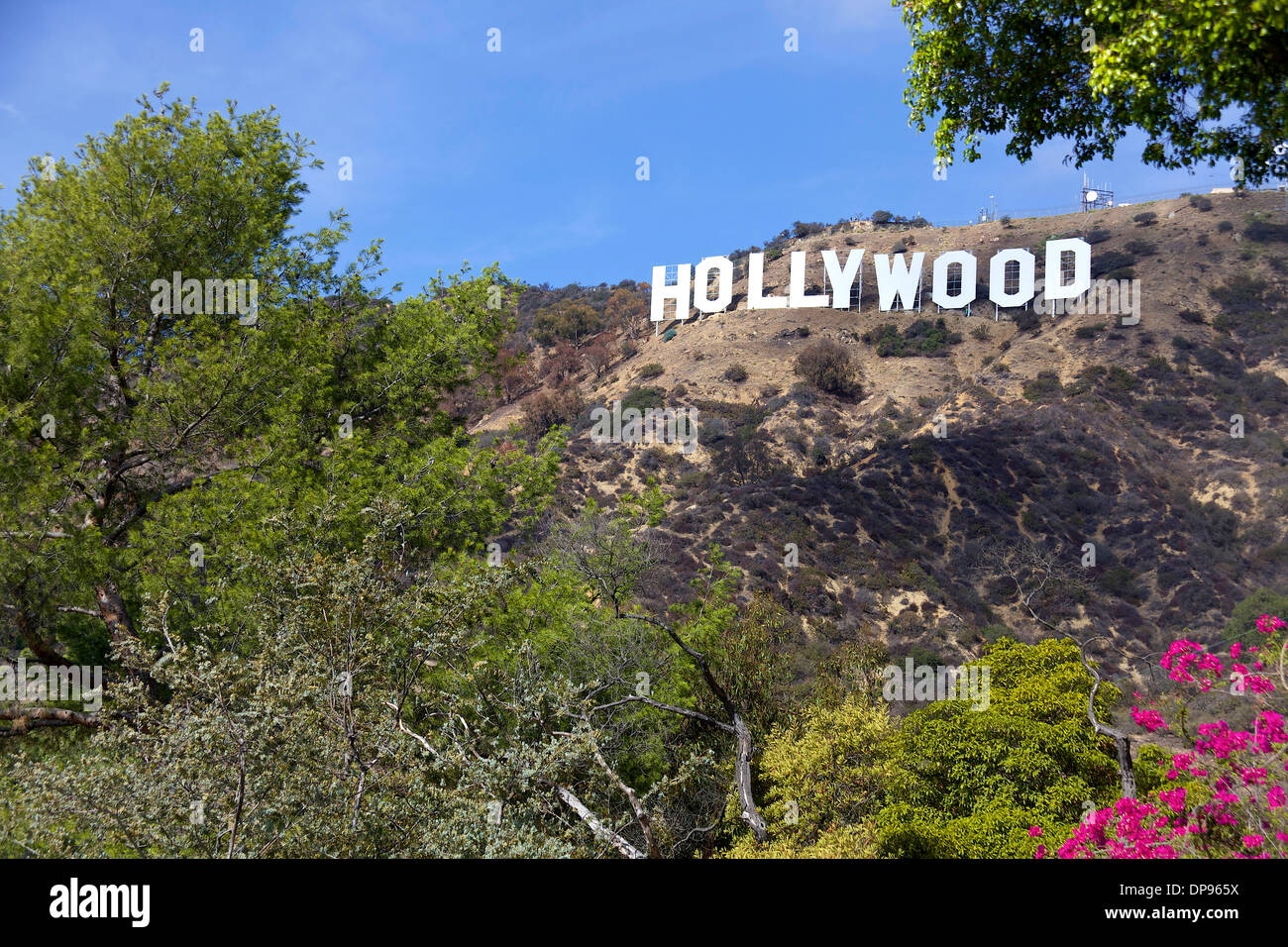 view of hollywood sign los angeles california united. Black Bedroom Furniture Sets. Home Design Ideas