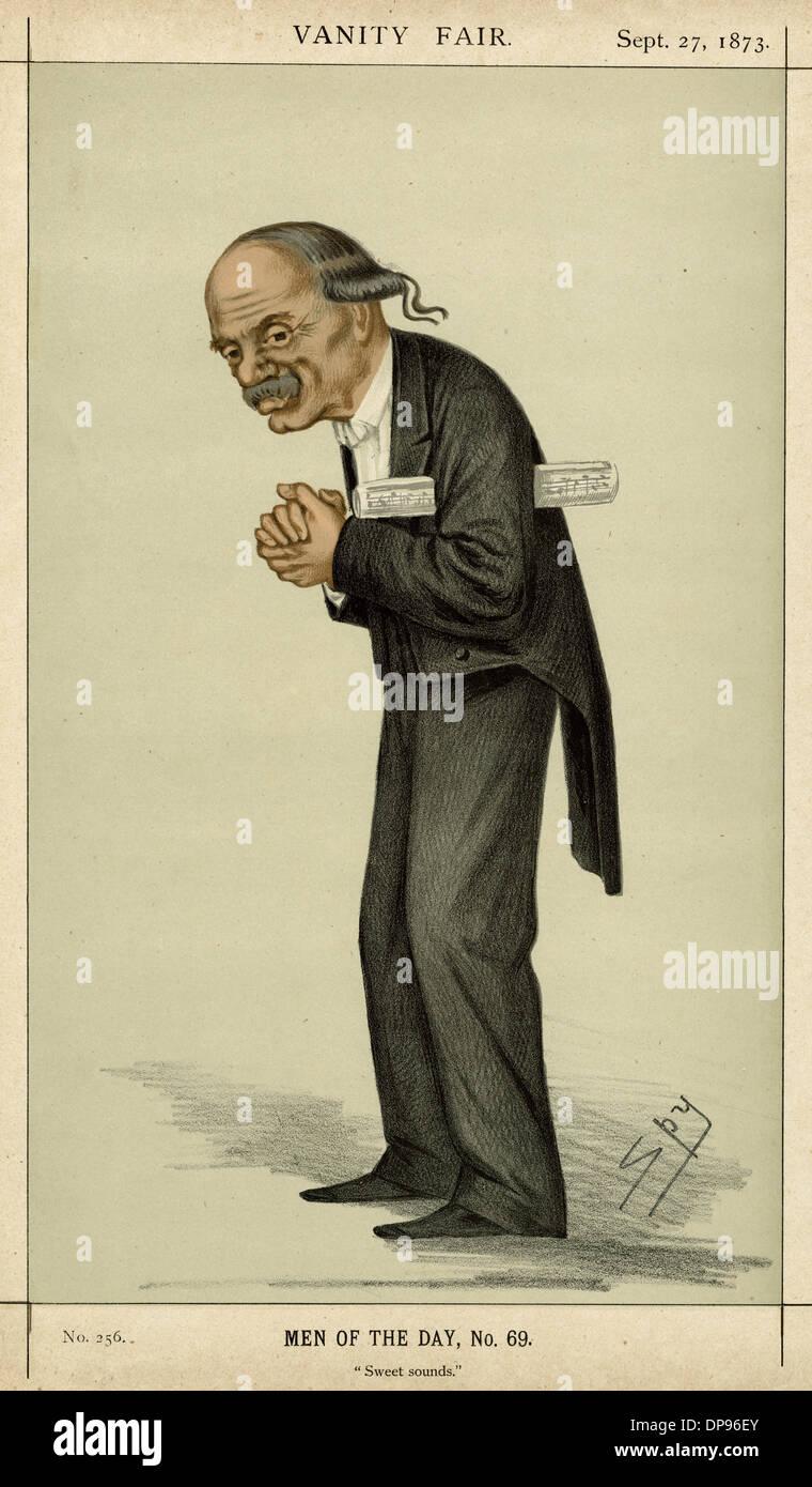 SIR JULIUS BENEDICT/SPY - Stock Image