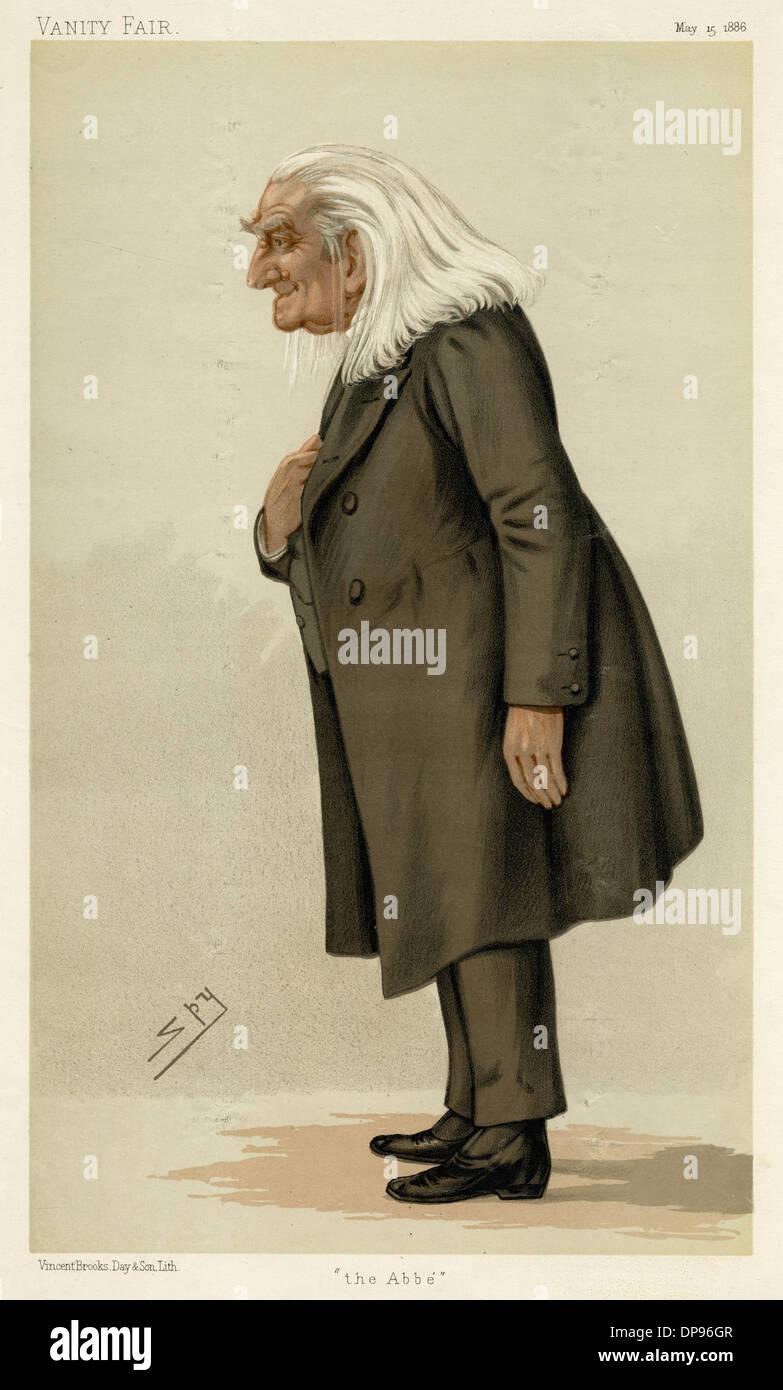 LISZT (1811-1886) - Stock Image