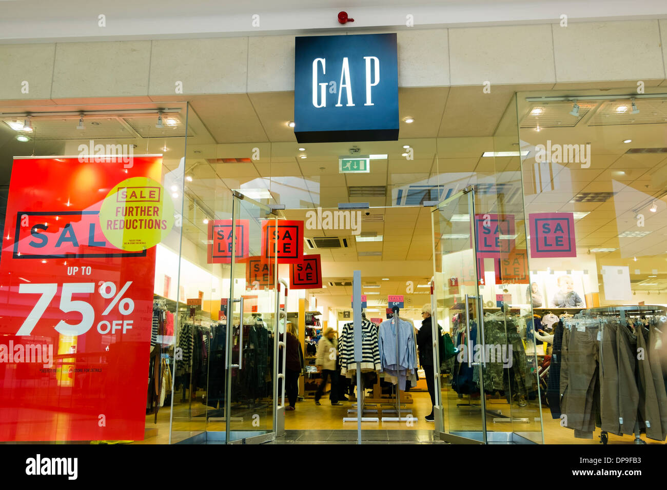 GAP store at Merry Hill, UK. - Stock Image