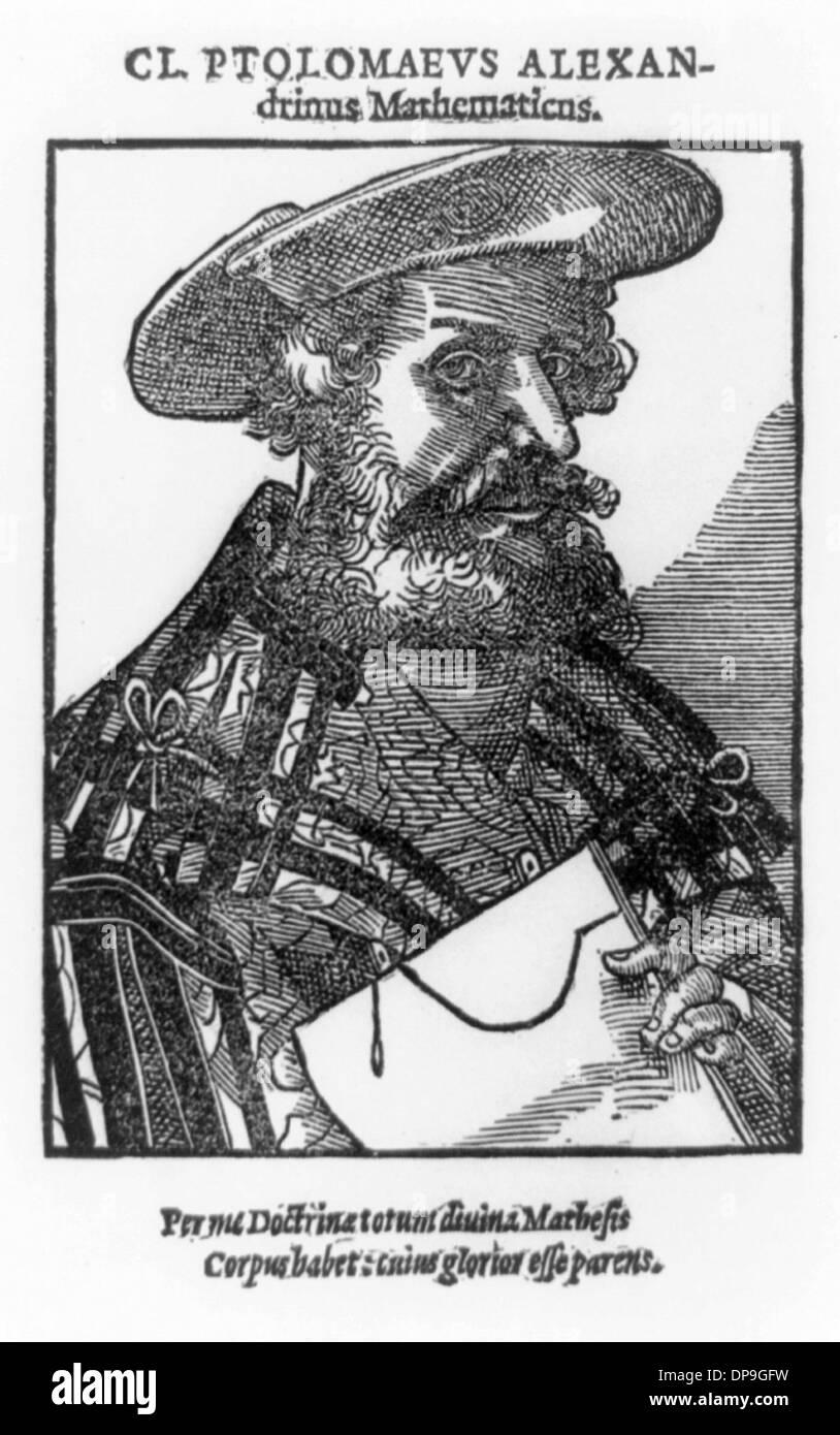 Claudius Ptolemy - Stock Image