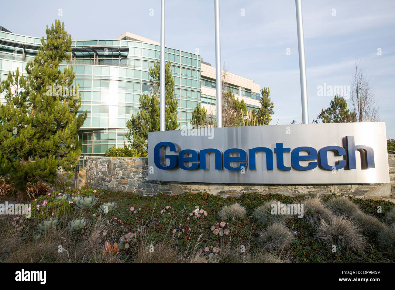 The headquarters campus of Genentech in San Francisco