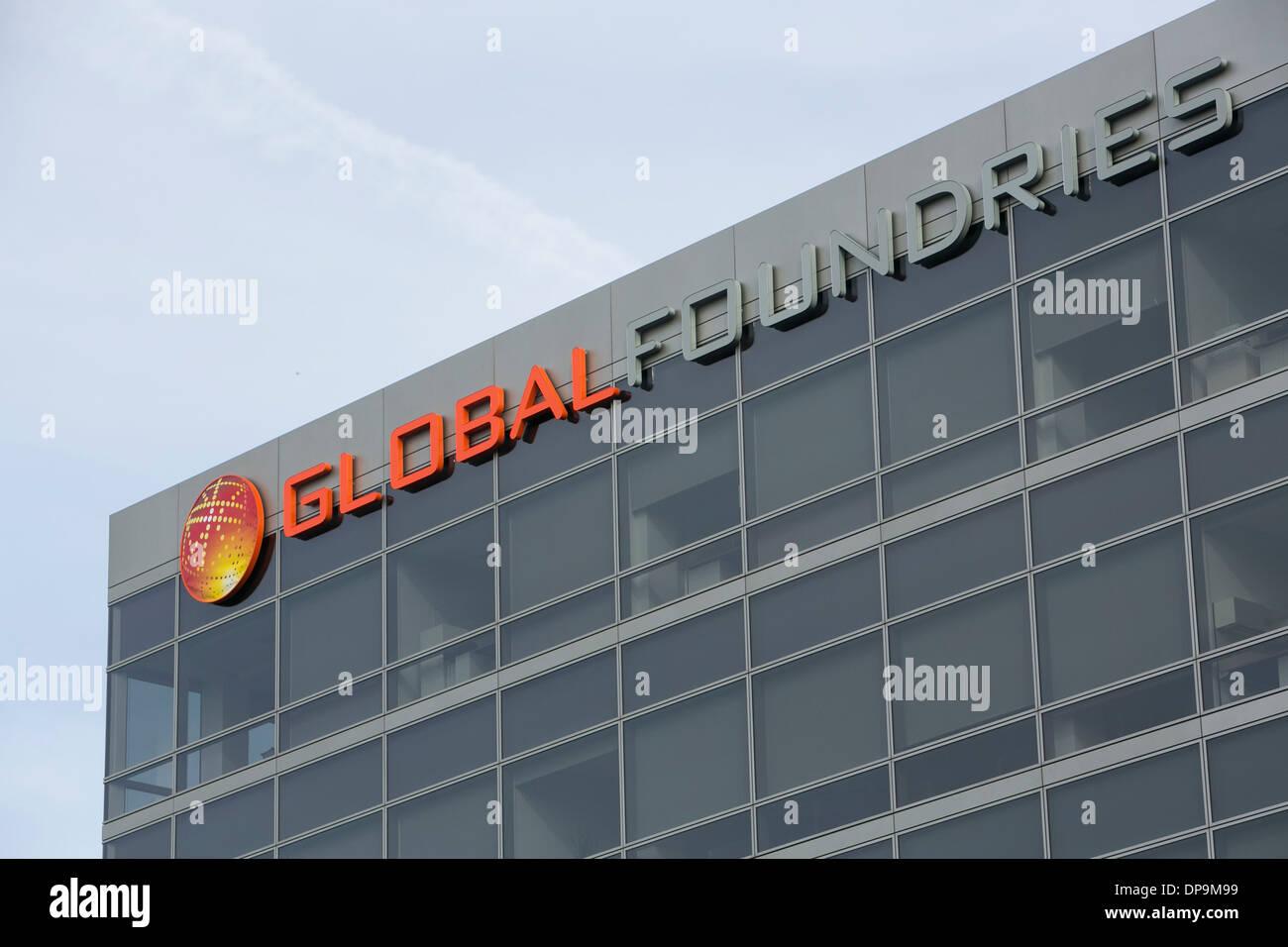 The headquarters of Global Foundries in Santa Clara, California.  - Stock Image