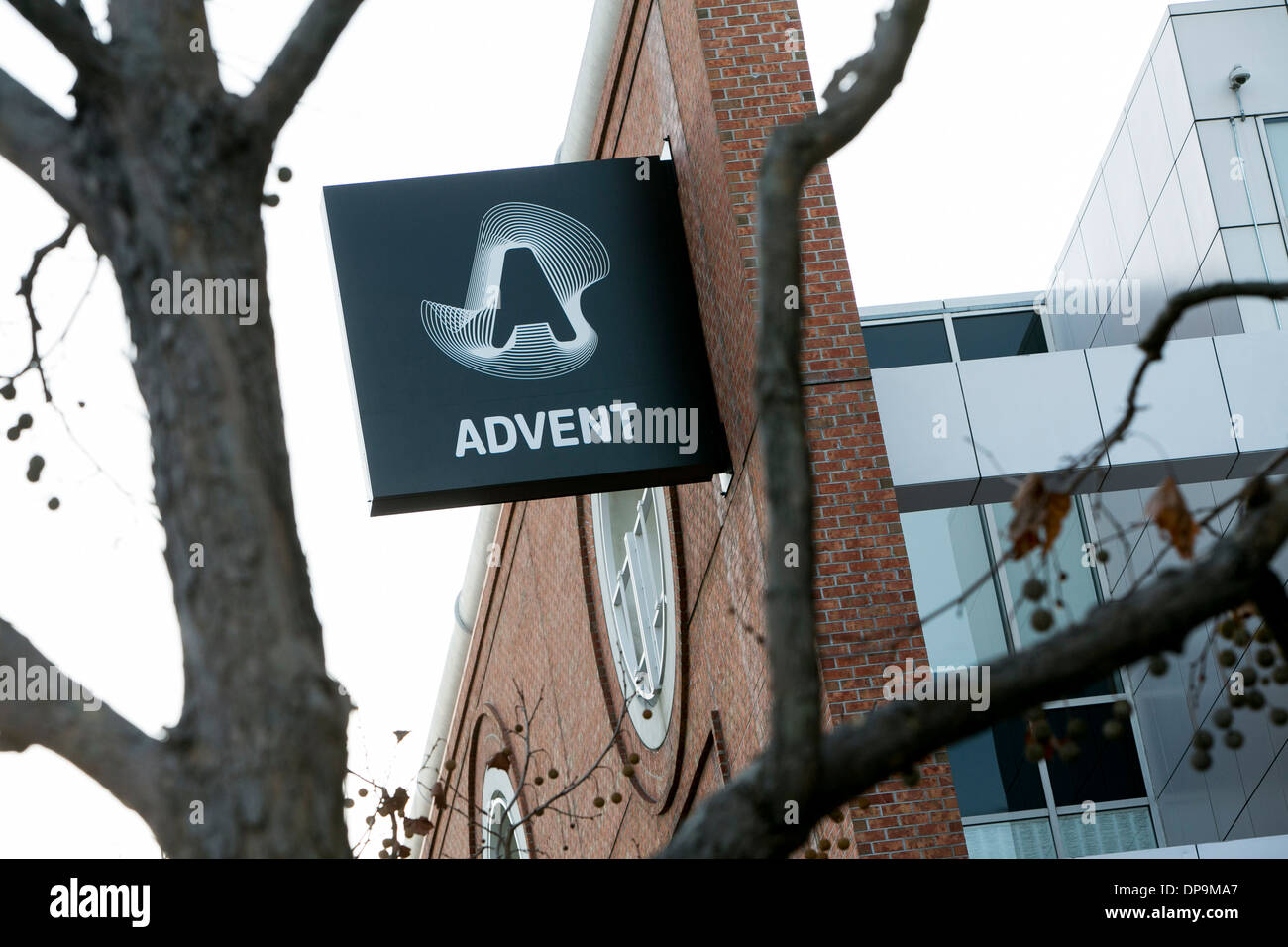 The headquarters of Advent software in San Francisco, California.  - Stock Image