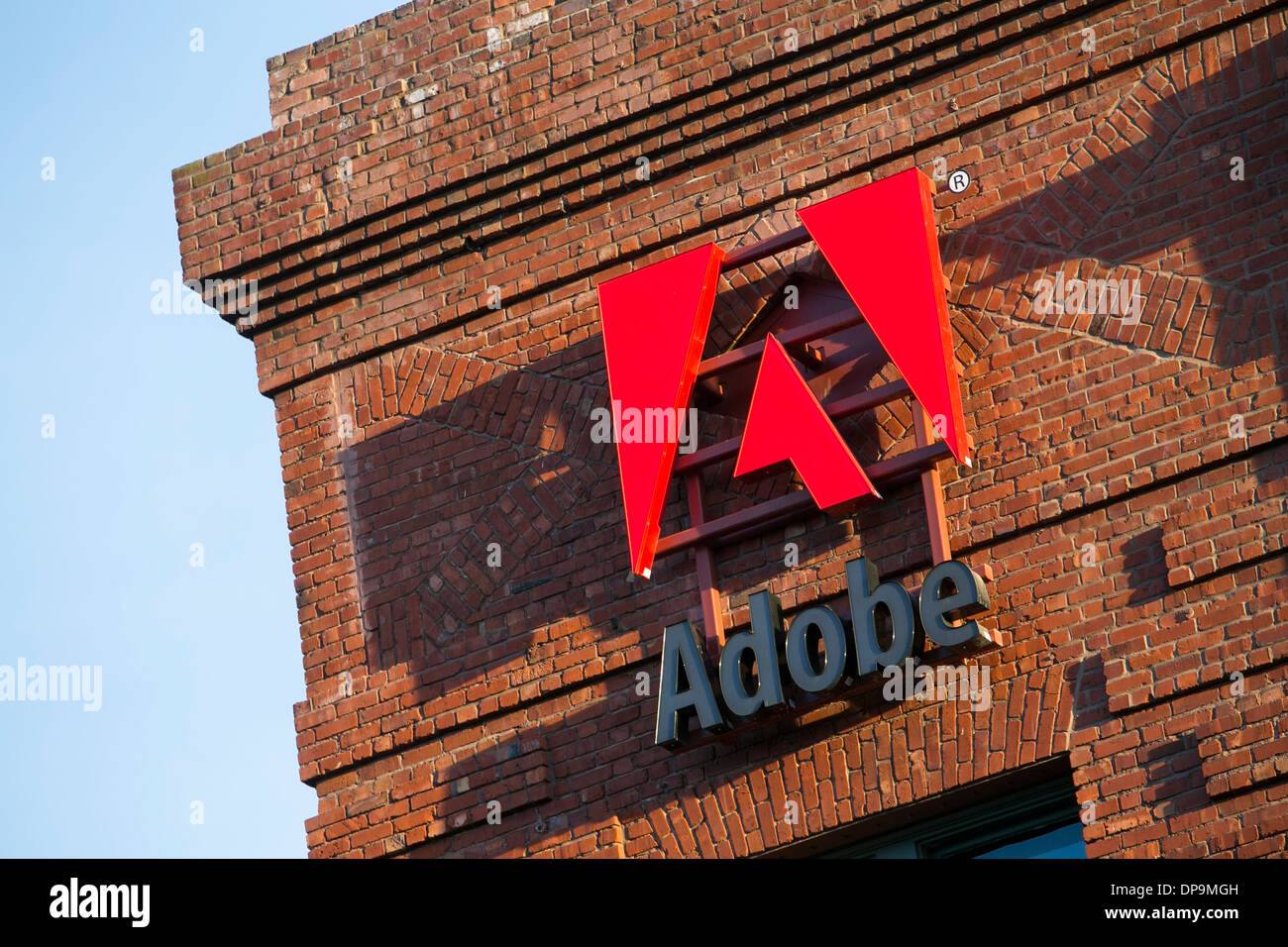 adobe san francisco. An Office Building Occupied By Adobe Systems In San Francisco, California. - Stock Image Francisco
