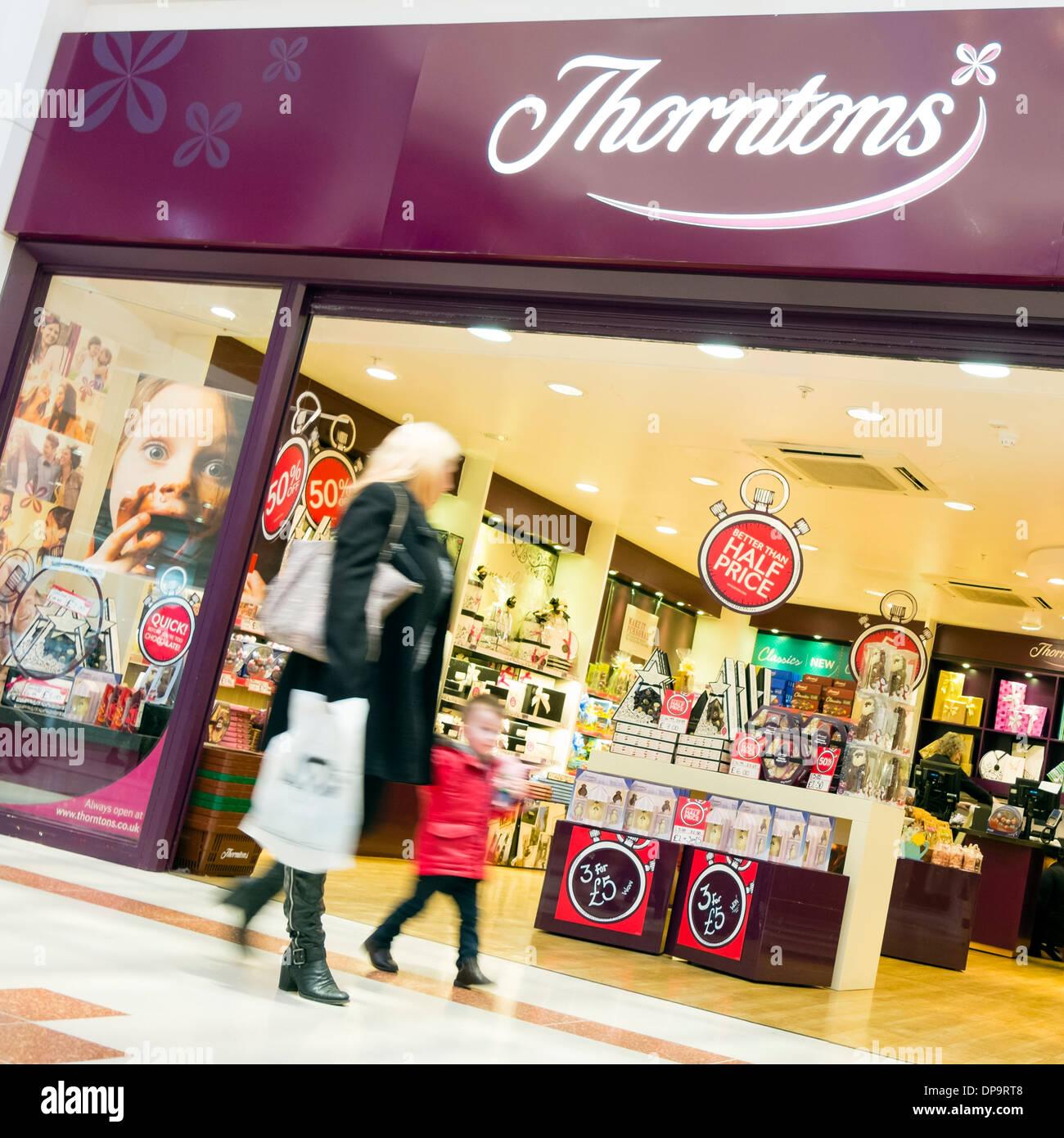 Thorntons Chocolate Store Stock Photos Thorntons Chocolate