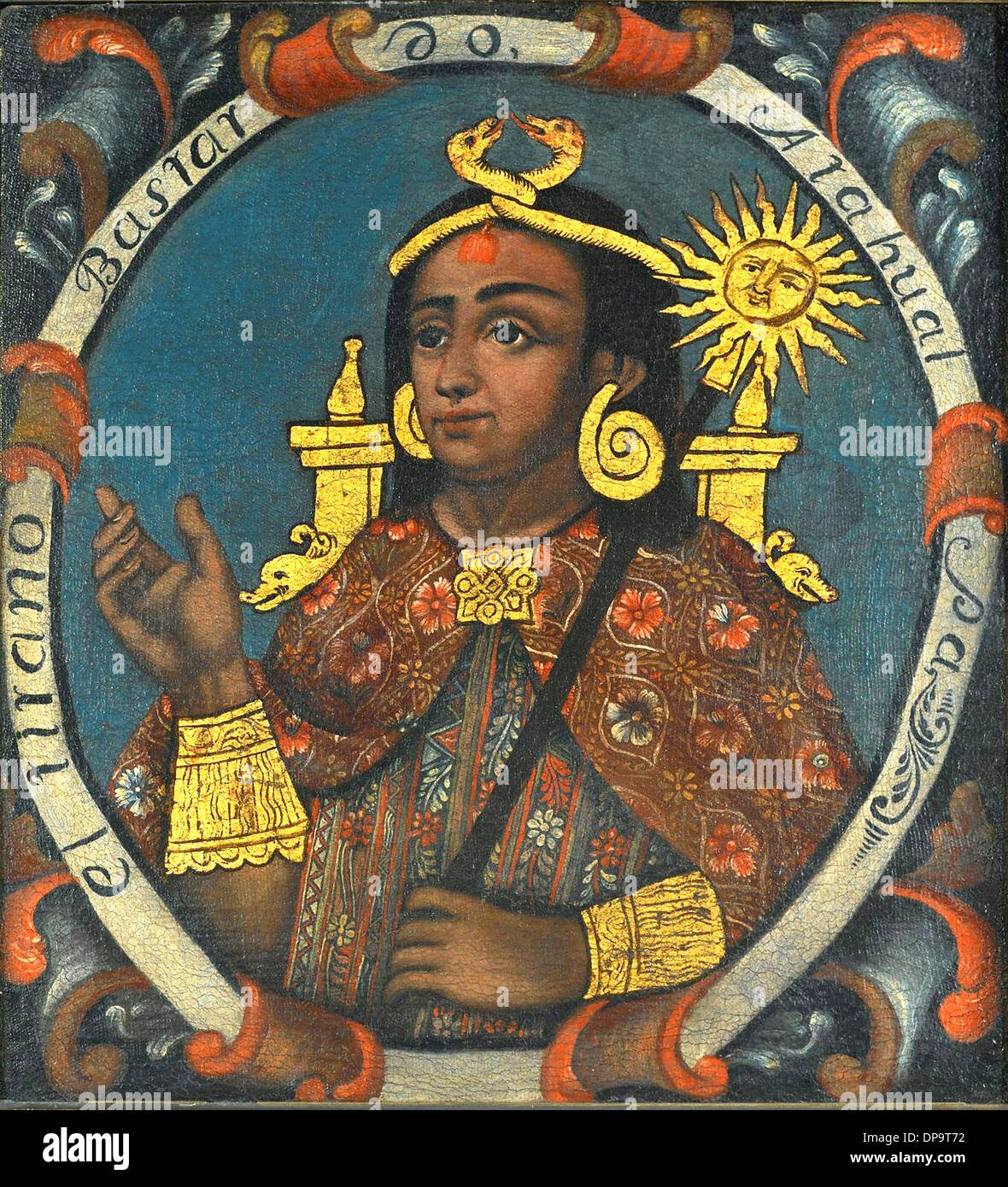 Atahualpa, Fourteenth Inca - Stock Image
