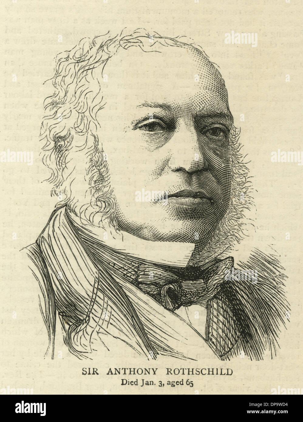SIR ANTHONY ROTHSCHILD - Stock Image