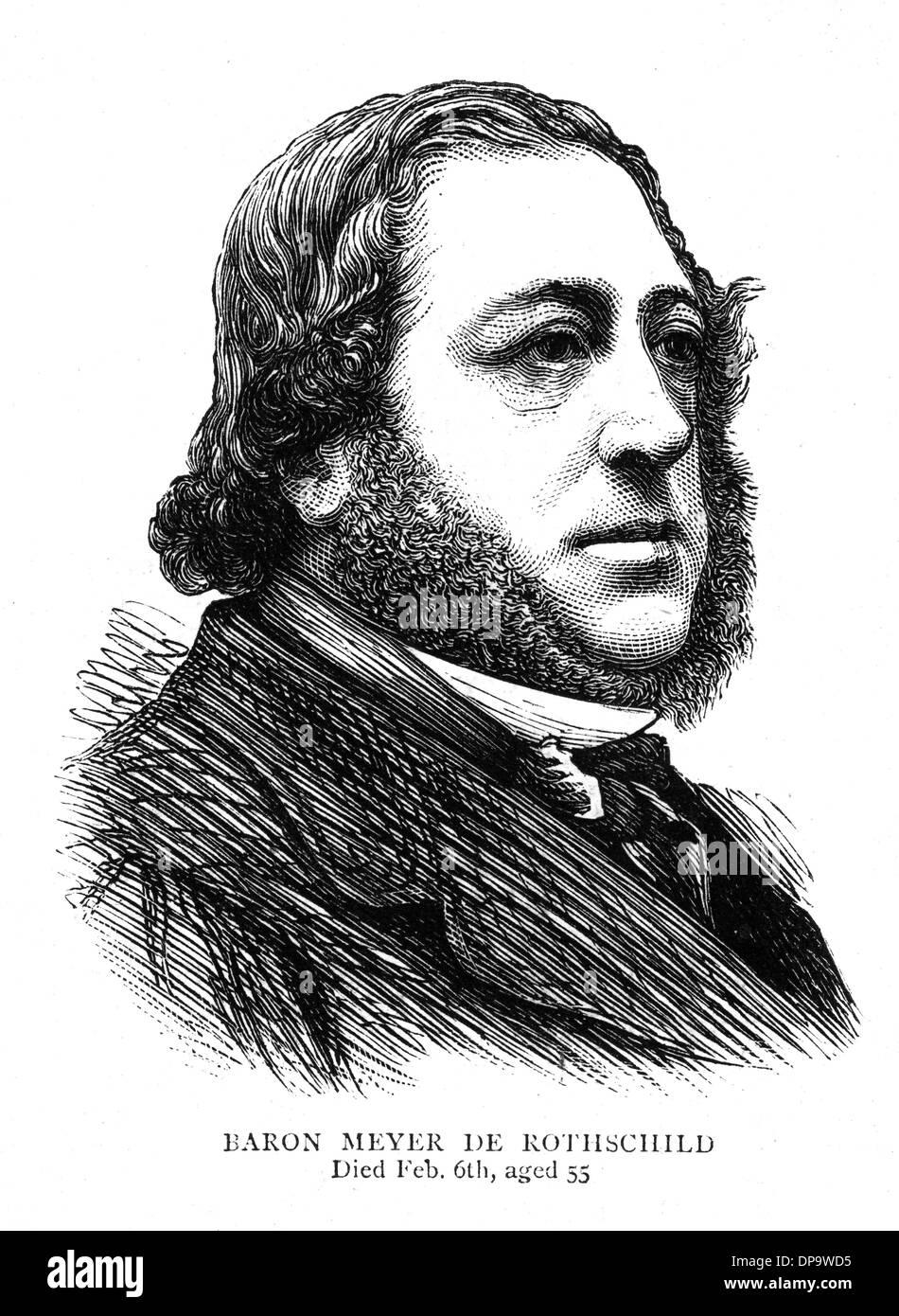 MAYER AMSCHEL DE ROTHSCHILD - Stock Image