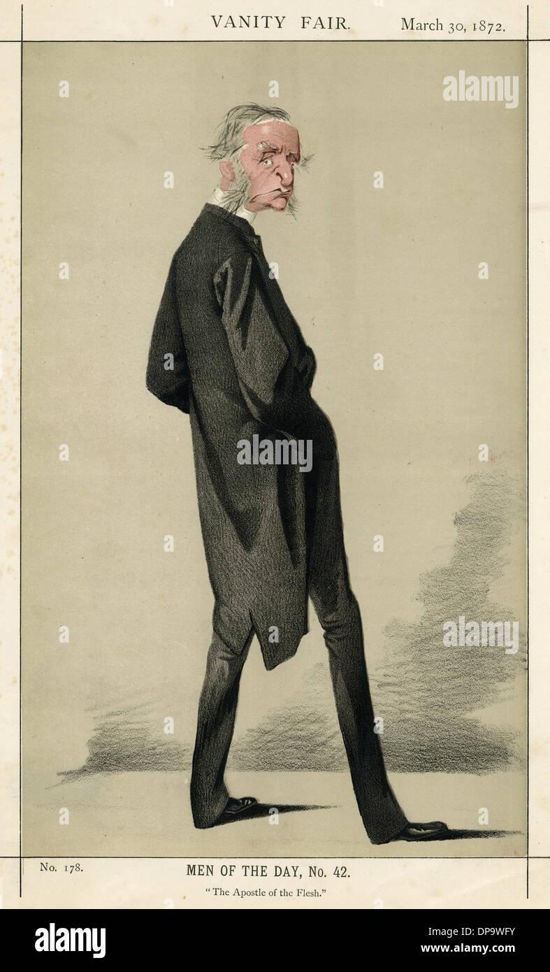 CHARLES KINGSLEY - Stock Image