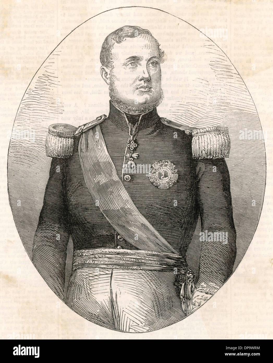 FERDINAND II (1810-1859) - Stock Image