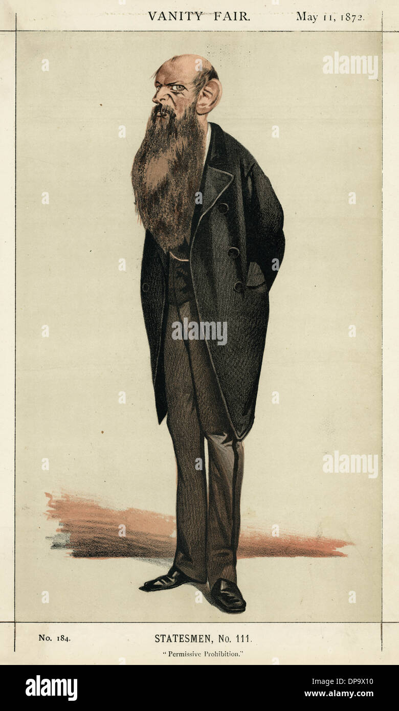 SIR WILFRID LAWSON - Stock Image