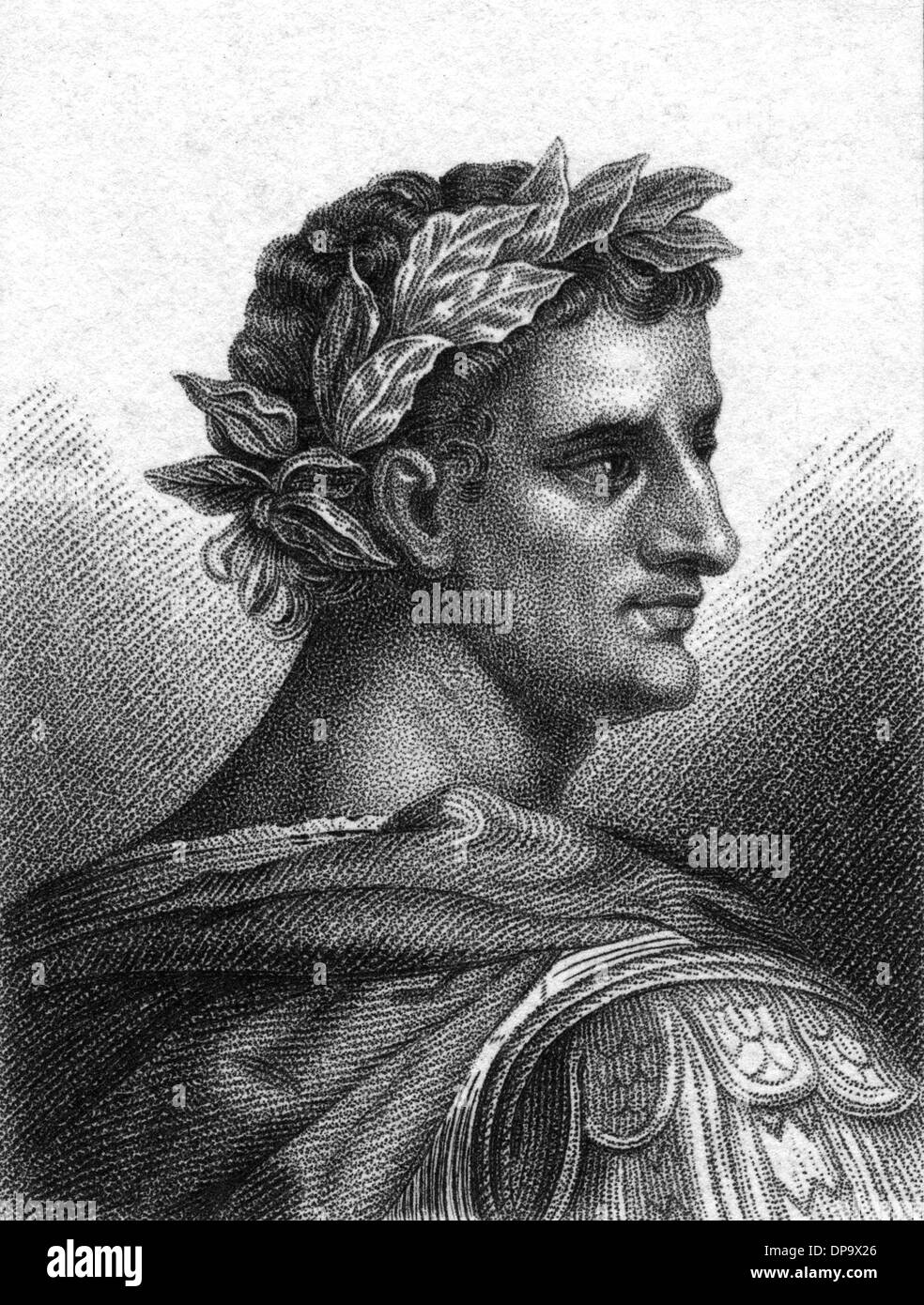 TIBERIUS (PHILLIPS) - Stock Image