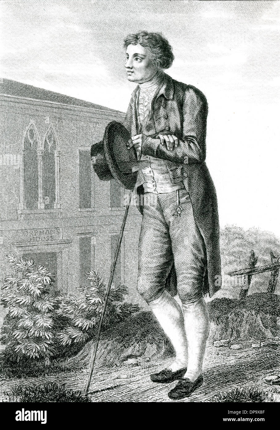 EDMUND BURKE (MARCEAU) - Stock Image