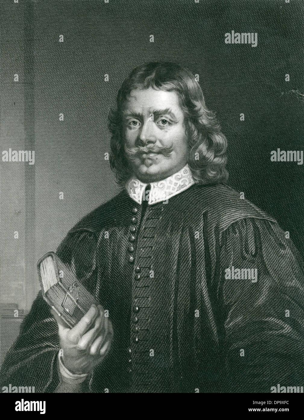 JOHN BUNYAN 1628 - 1688 Stock Photo