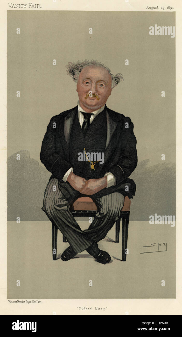 SIR JOHN STAINER (SPY) - Stock Image