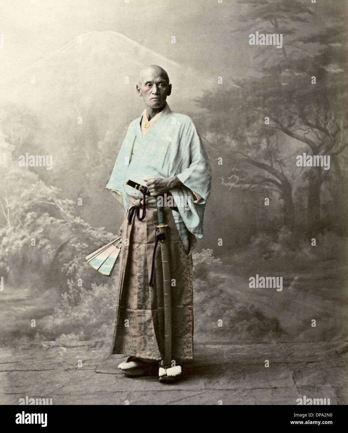 Samurai Japan Stock Photo Alamy