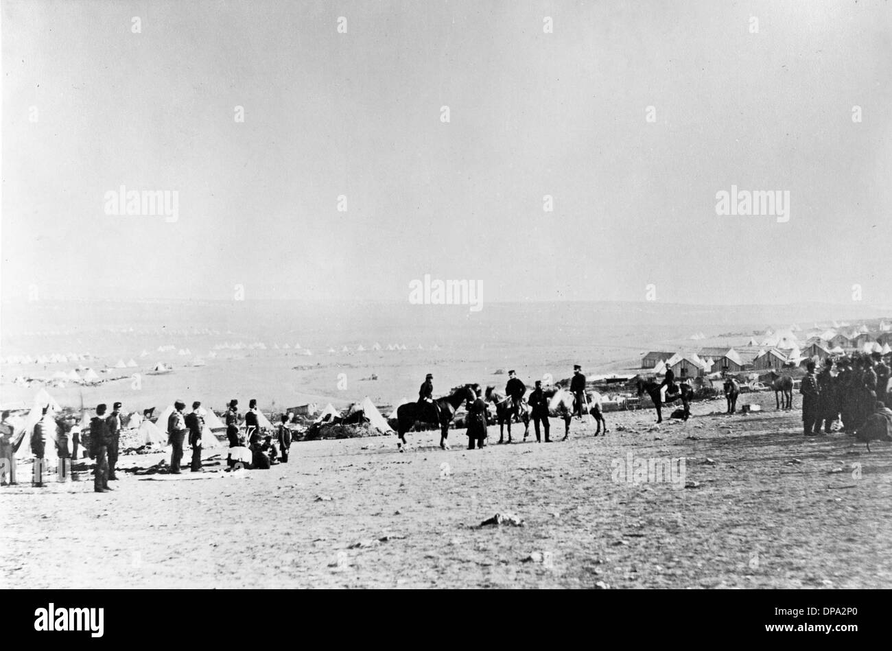 Crimean War - Fenton photograph - Stock Image