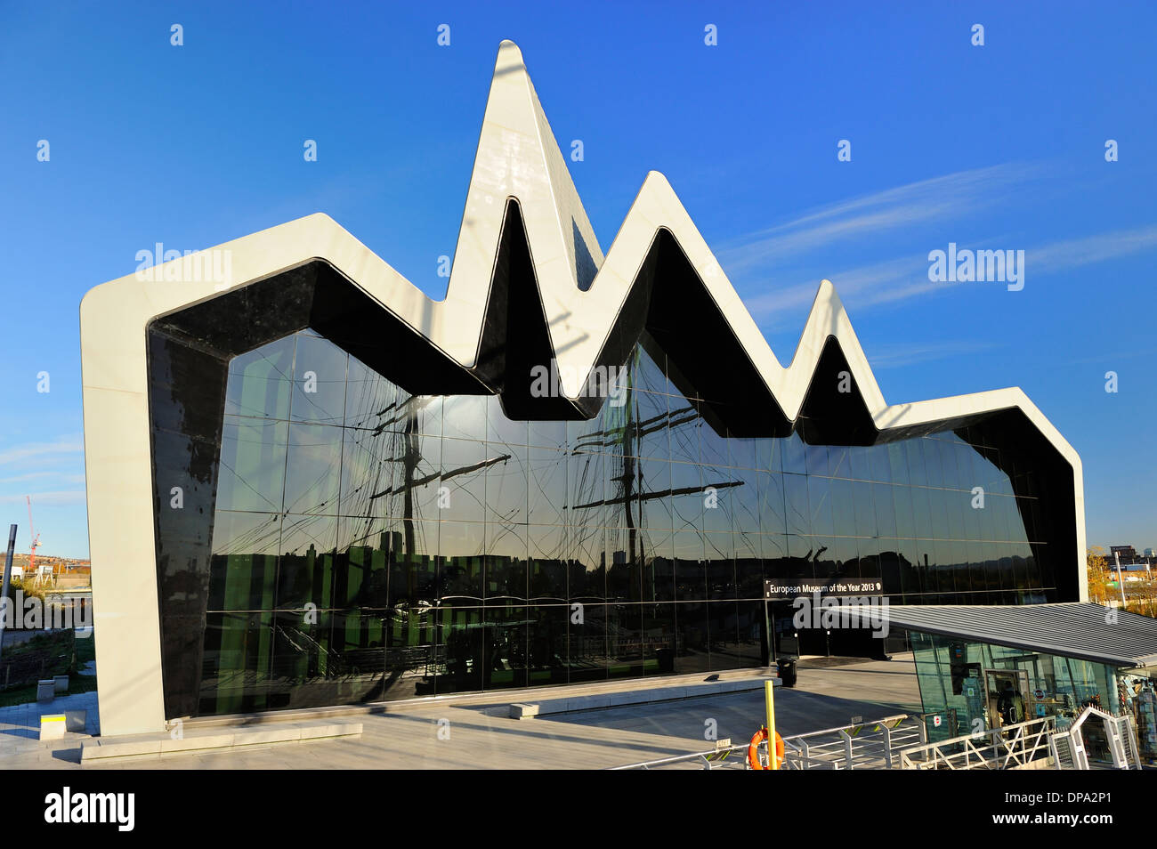 new riverside museum of transport glasgow scotland stock photo 65375241 alamy. Black Bedroom Furniture Sets. Home Design Ideas
