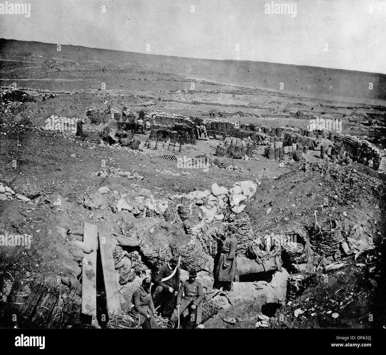Crimean War - Robertson photograph - Stock Image