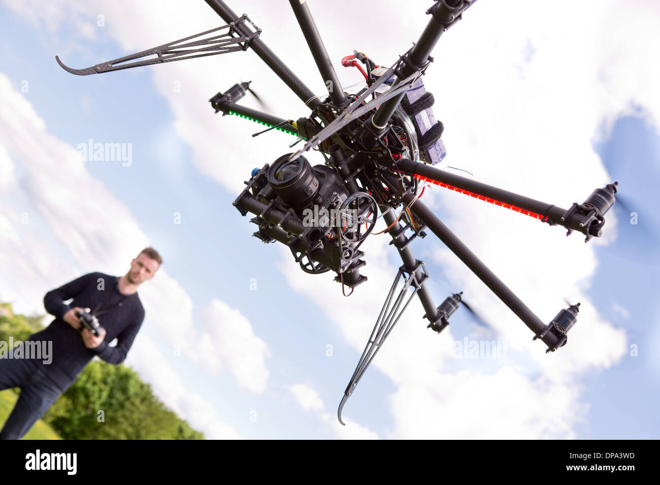 Photography UAV - Stock Image