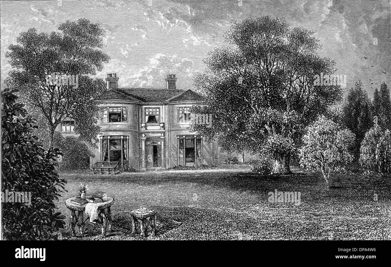 GEORGE ELIOT/ROSEHILL - Stock Image