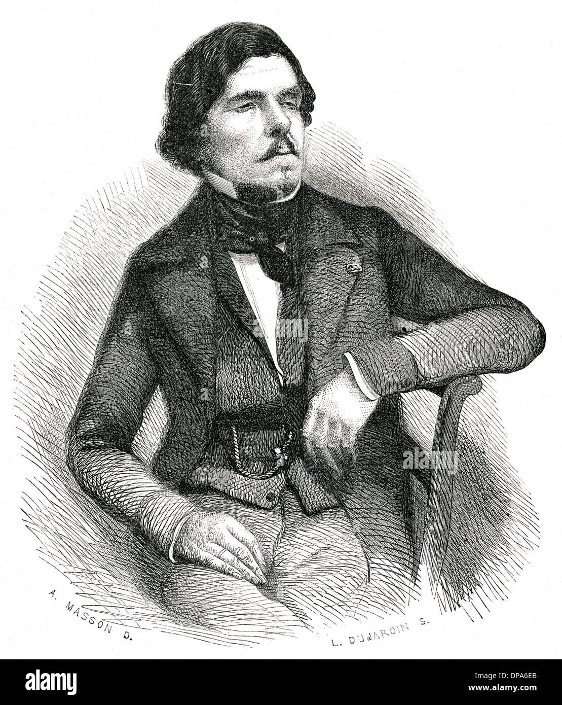 DELACROIX/ILS/1863 - Stock Image