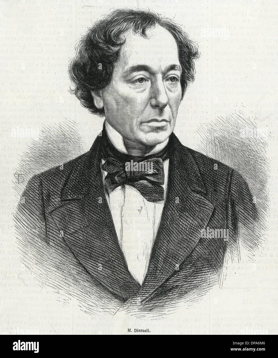 DISRAELI/ILS 1868 - Stock Image
