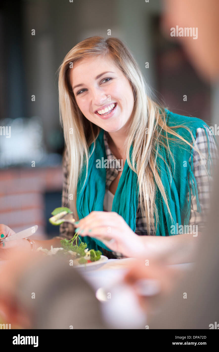 Young Couple Sitting Kitchen Table Stock Photos & Young Couple ...