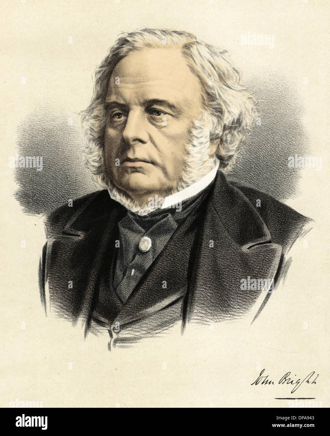 JOHN BRIGHT - Stock Image