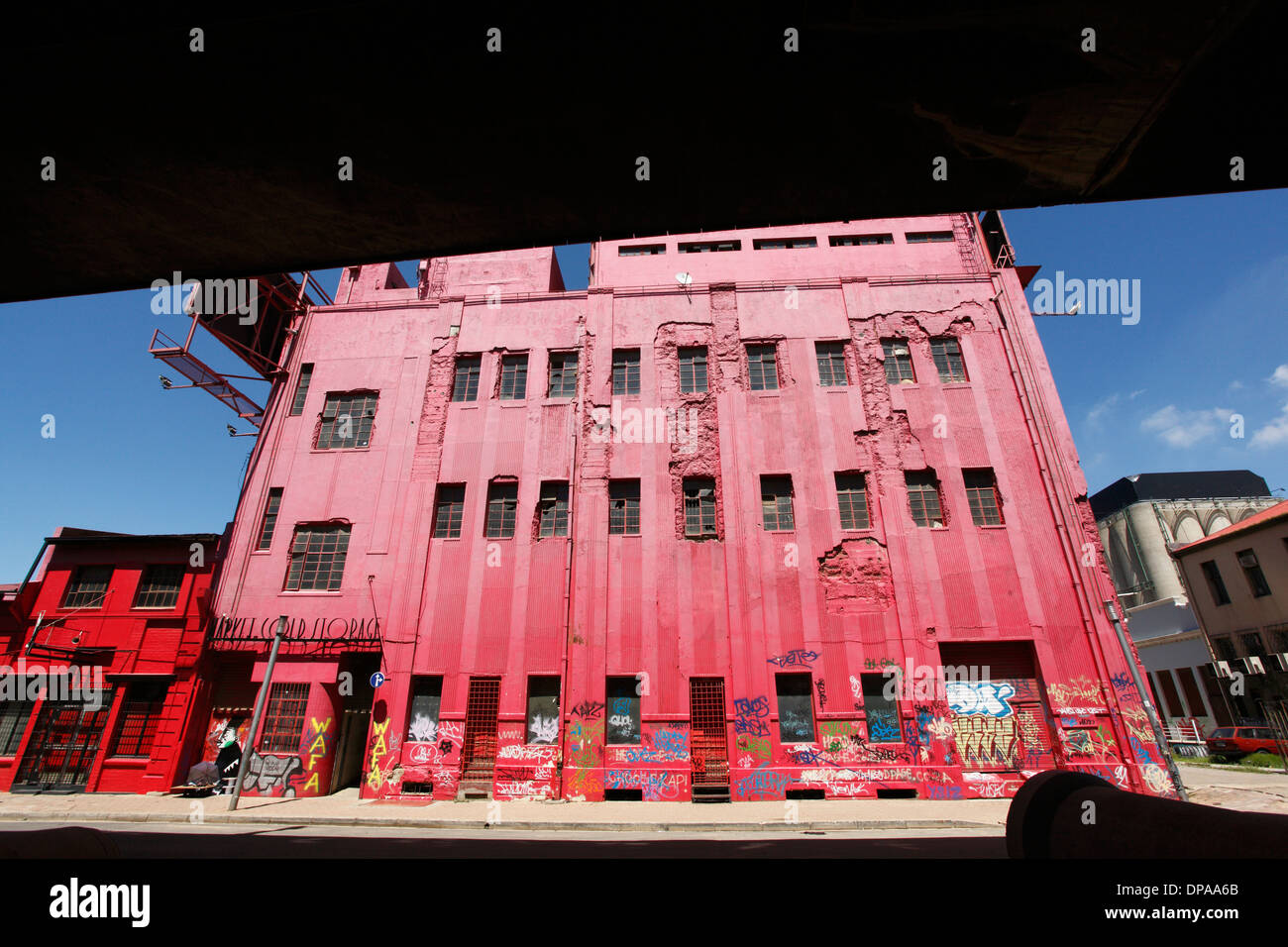 The Market Cold Store building in Newtown in central Johannesburg