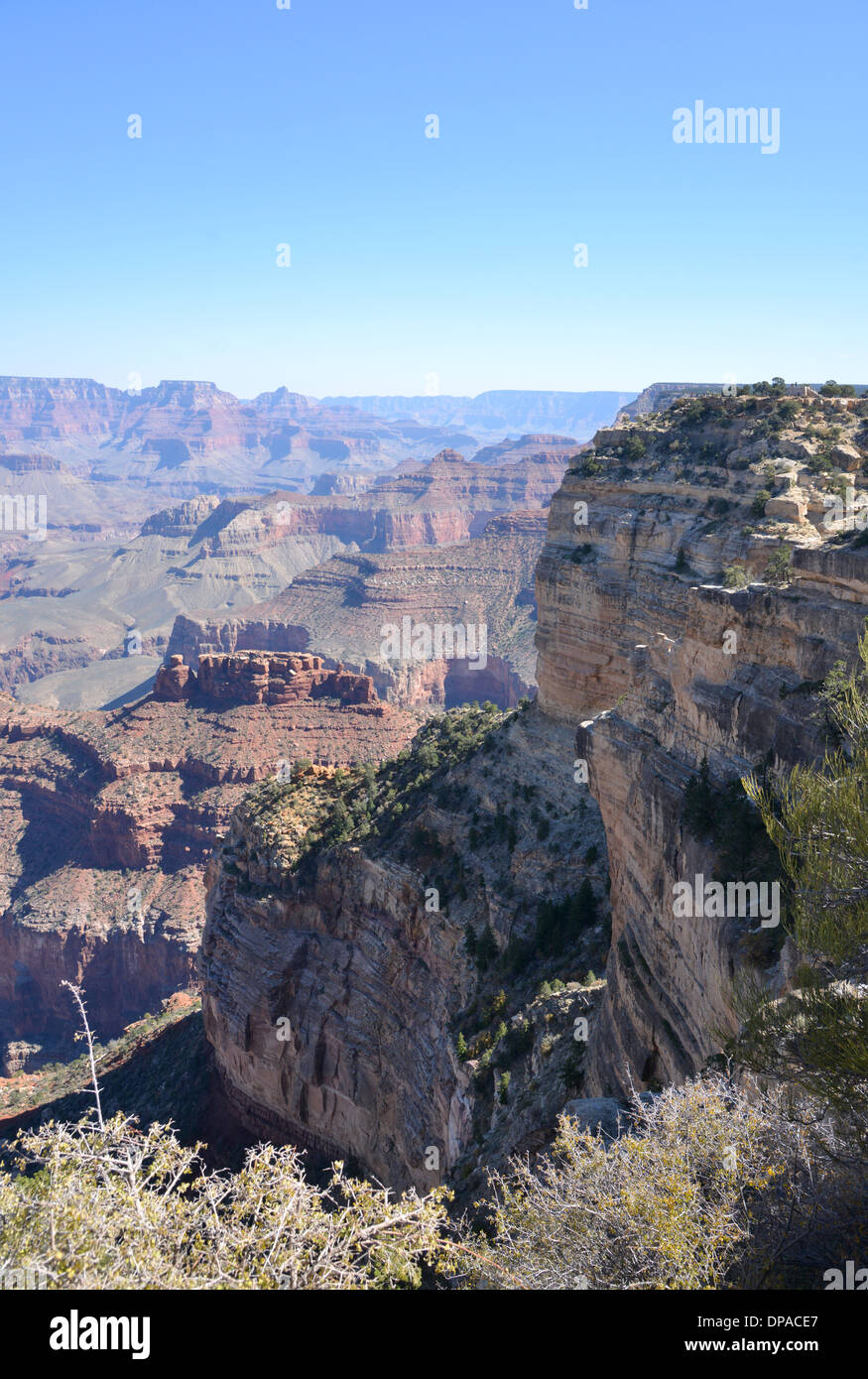 The Grand Canyon, Arizona, USA. Vast and impressive natural wonder - Stock Image