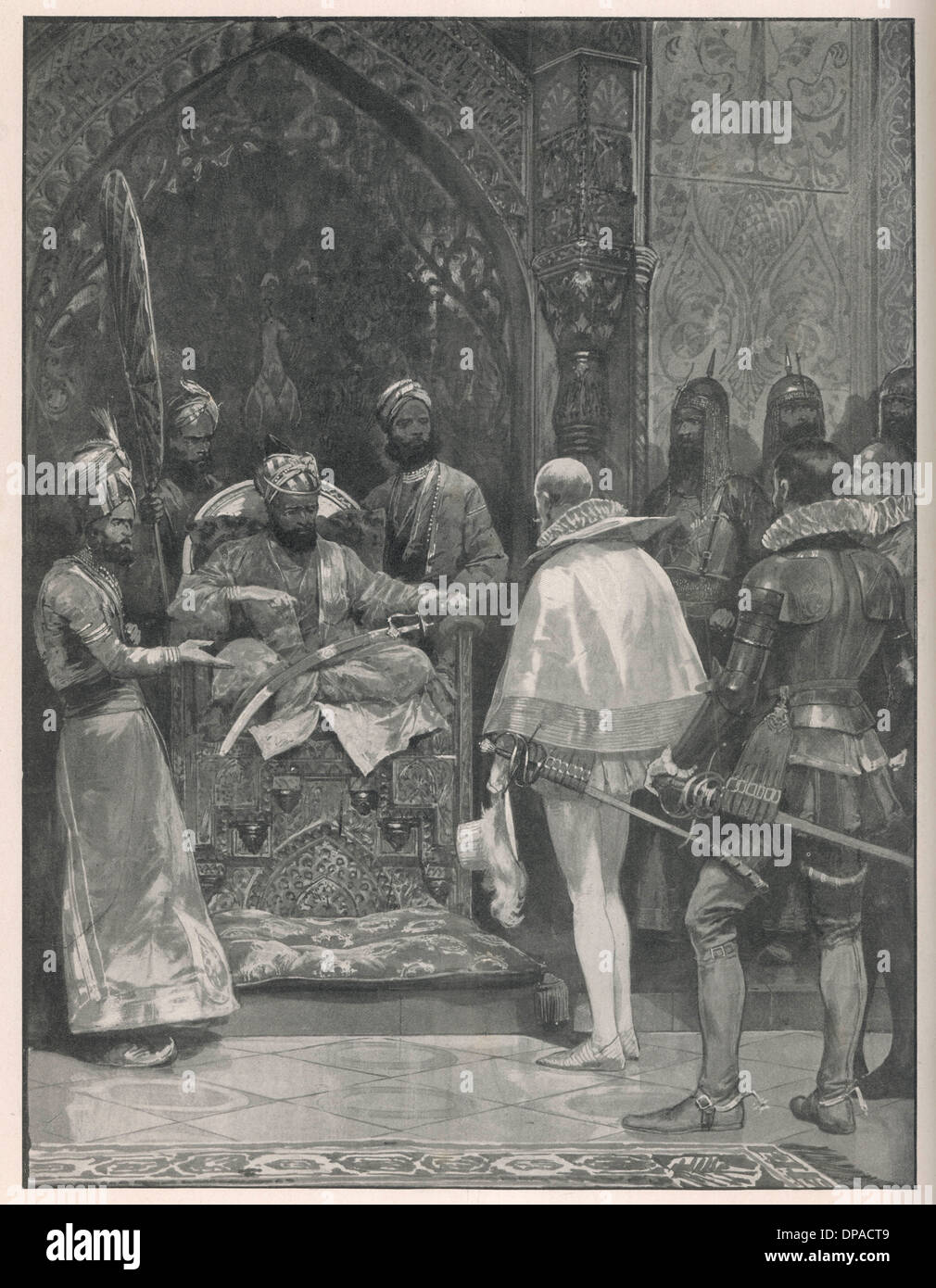 AKBAR WITH MILDENHALL - Stock Image