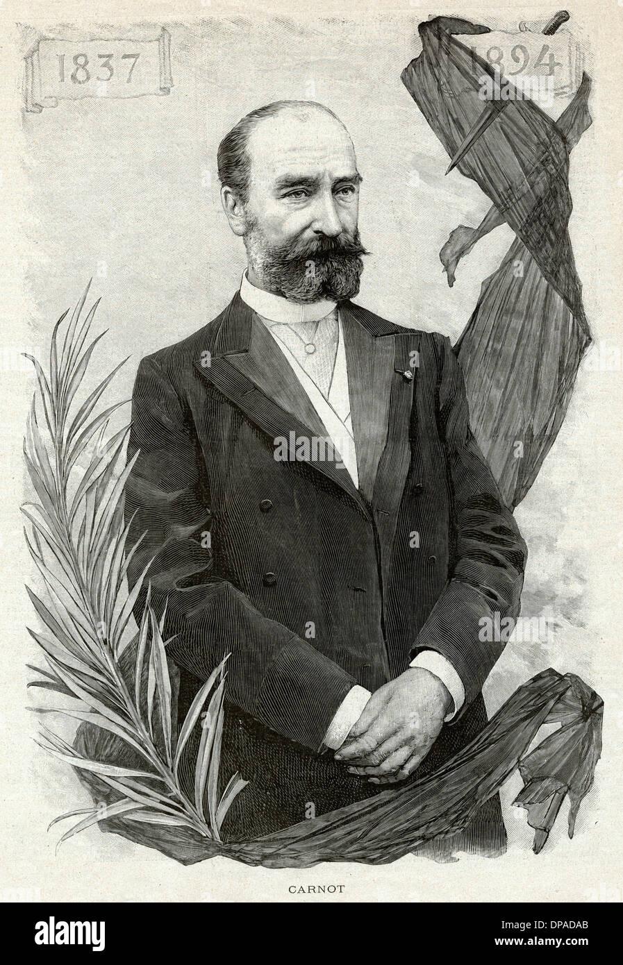 MFS CARNOT/ILS 1894 - Stock Image