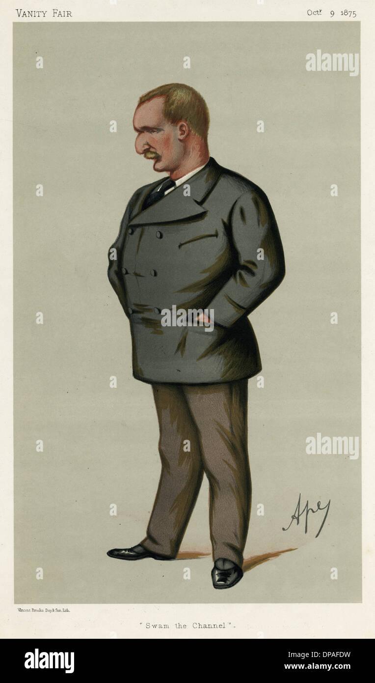 SIR AUGUSTUS MANNS - Stock Image