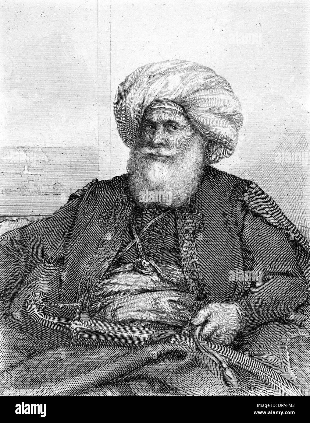 MUHAMMAD ALI, VICEROY - Stock Image