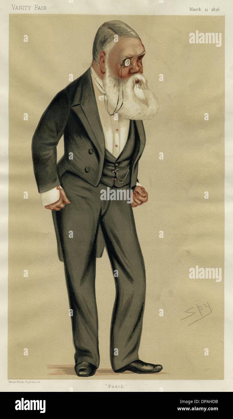 TOM TAYLOR/VFAIR 1876 - Stock Image