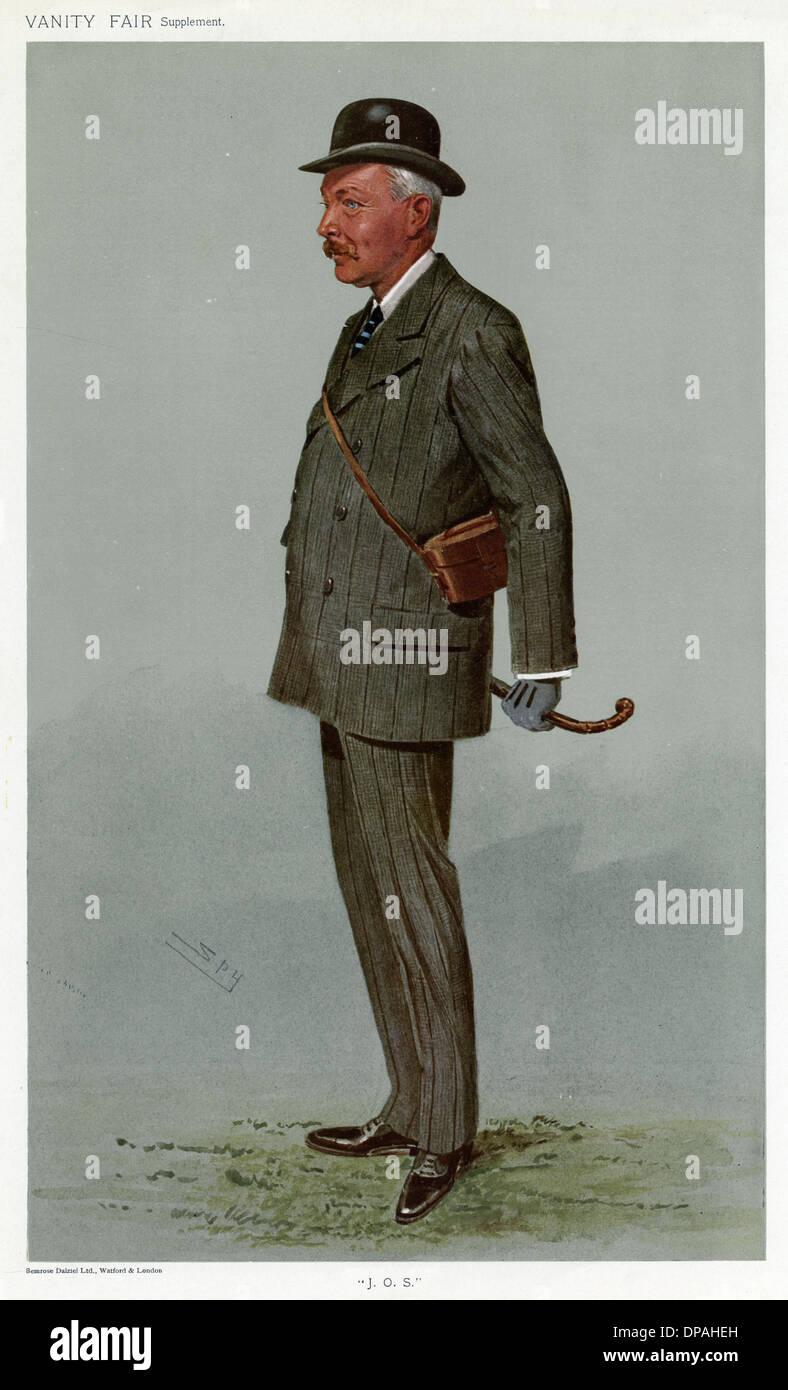 SIR JOHN THURSBY - Stock Image