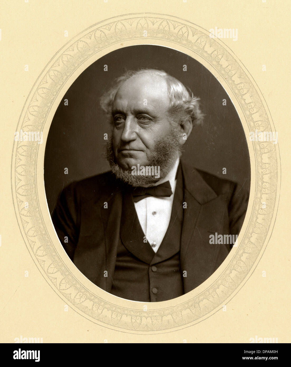 SIR GEORGE ELVEY - Stock Image