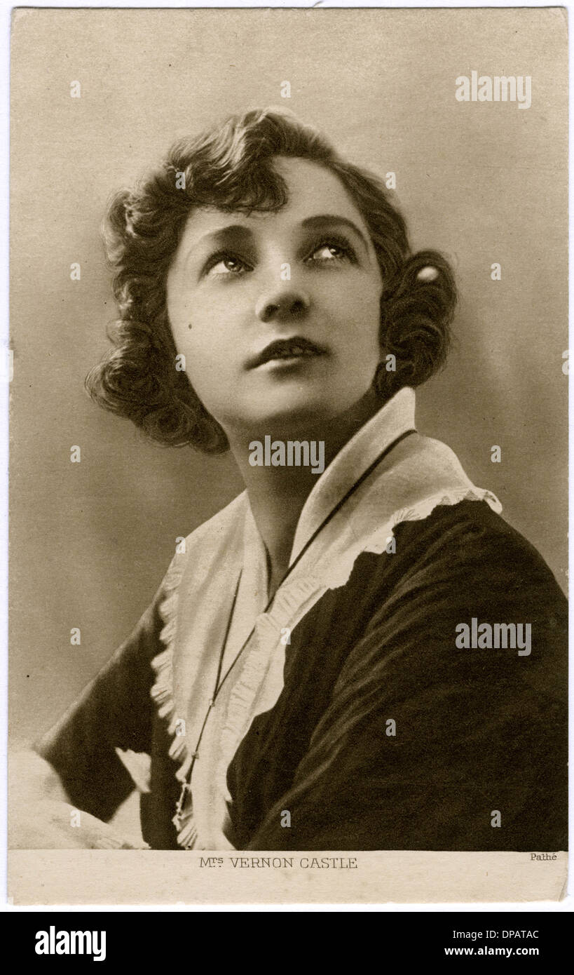 IRENE CASTLE/PATHE - Stock Image